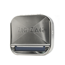 купить Metal Automatic Cigarette Tobacco Roller Rolling Machine Box for 70MM SIZE Paper Metal Rolling Machine Case по цене 249.45 рублей