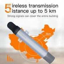 Capteur dhumidité de la température de loxygène sans fil lora alimenté par batterie
