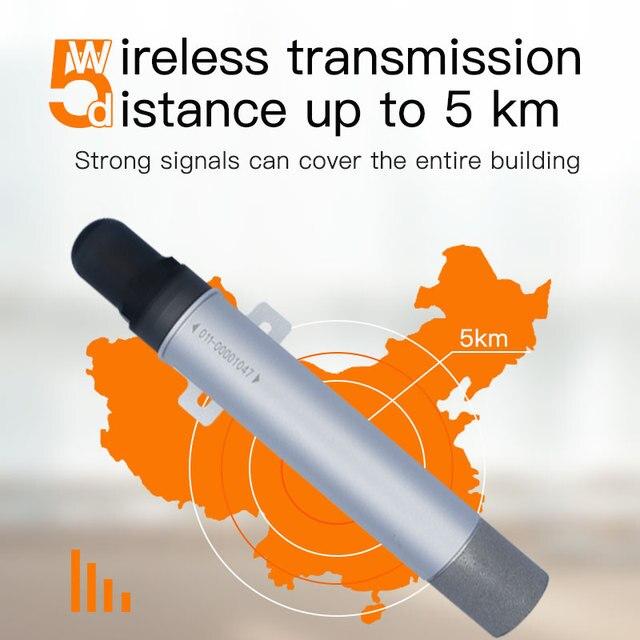 Zasilany z baterii lora bezprzewodowy czujnik temperatury i wilgotności tlenu uniwersalny pomiar wilgotności powietrza w temperaturze tlenu