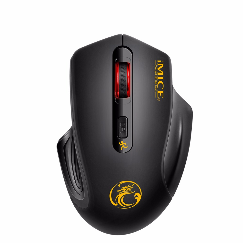 USB Wireless Mouse 2000DPI Optical Mouse Gamer 4 Buttons 2.4G  Receiver Ergonomic Design Gaming Mice For Laptop Computer Mouse ergonomic design usb vertical optical mouse wrist healing for computer pc laptop r179t drop shipping