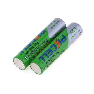 Image 5 - 4Pcs/PKCELLแบตเตอรี่AAA Ni MH 850MAh 1.2V AAAแบตเตอรี่3Aแบตเตอรี่Baterias Bateria