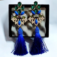 Same Paragraph Full Of Crytal Tassel Earrings Fall Banquet