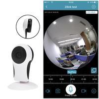 Wireless 180 Degree Horizontal Wi Fi Panorama Webcam Home Security Camera 1 0MP Panoramic VR