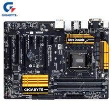 Материнская плата Gigabyte LGA 1150 DDR3, USB3.0 32G для Intel Z97, системная плата для настольного ПК, используется для Intel Z97, ATX, системная плата