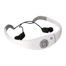 À prova d' água Mp3 Music Player Fone de Ouvido, 8 gb de Memória Hi-fi Stero Fone De Ouvido com Rádio Fm