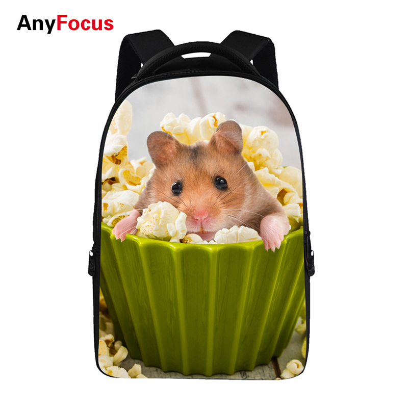 3D Pet cat Backpacks For Teens Computer Bag Fashion School Bags For Primary Schoolbags Fashion Backpack Best Book Bag