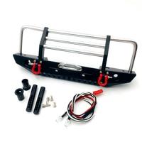 1 Set Metalen Voorbumper + Montage Hardware Voor Redcat Racing GEN8 Scout II 1/10 RC Crawler Auto Accessoires-in Vervangende onderdelen en toebehoren van Consumentenelektronica op
