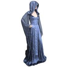 2018 Nouvelle Arrivée Femmes Robe Médiévale Renaissance Victorienne Robe De Bal  Robe de Soirée Princesse Reine Cosplay Costume db06ba6bb