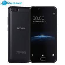 DOOGEE Shoot 2 Dual Camera Android 7.0 Cellphone Dual SIM 5.0Inch MTK6580A Quad Core mobile phones 3360mAH WCDMA Smartphone
