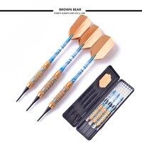 New High quality 18g copper darts aluminum shaft Soft tip Electronic dart toys 3 pcs/lot