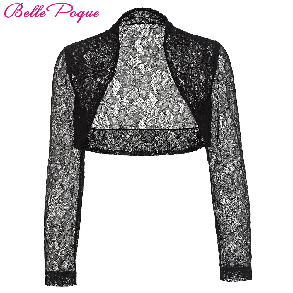 ✅Belle poque chaqueta de otoño para mujer de manga larga recortada ...