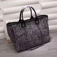 luxury handbags women bags designer 2018 top quality fashion denim canvas totes brand shoulder bag shopping bags bolsas feminina