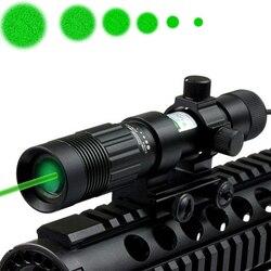 Sterke Groene Laser Benamingscode/Illuminator/Jacht Zaklamp nachtzicht laser light-Brand nieuw in doos
