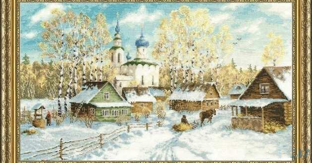 Weihnachten Nostalgisch.Us 19 52 Gold Sammlung Schöne Nostalgie Gezählt Kreuzstich Kit Land Winter Schnee Coming Home Urlaub Weihnachten In Gold Sammlung Schöne