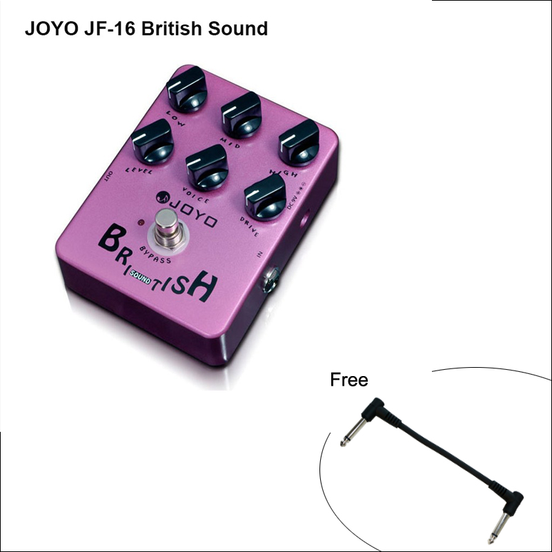 JF-16 British Sound Electric Guitar Effect Pedal with 6 Knobs Amplifier Simulator Get Tones Inspired By Marshall-amp-simulating joyo guitar effect pedal british sound effect pedal marshall amps simulator jf 16