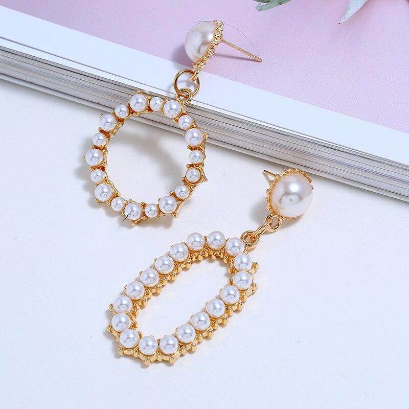Pearl Dangle Earrings (4)
