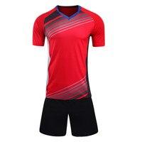 2017 Men Kids Survetement Football Jerseys Kit Sports Soccer Jersey Set Uniforms Shirt Shorts Maillot De