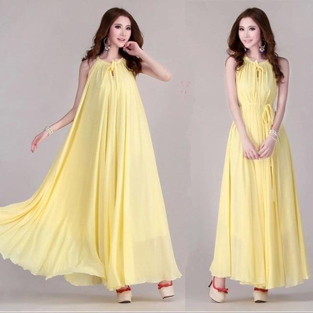 8c467cfc3bba7 New summer Maternity Dresses long Chiffon Bohemian Dress Clothes For  Pregnant Women Maternidade Pregnancy Clothing