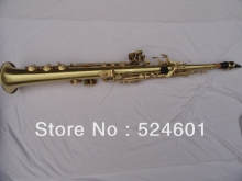 Wholesale one tube wire drawing Soprano Saxophone Bb High F, G key