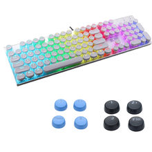 Keycaps Backlit With Overwatch Pattern Translucent Double Shot ABS 104 KeyCaps Backlit for Cherry MX Keyboard Switch Gaming Key(China)
