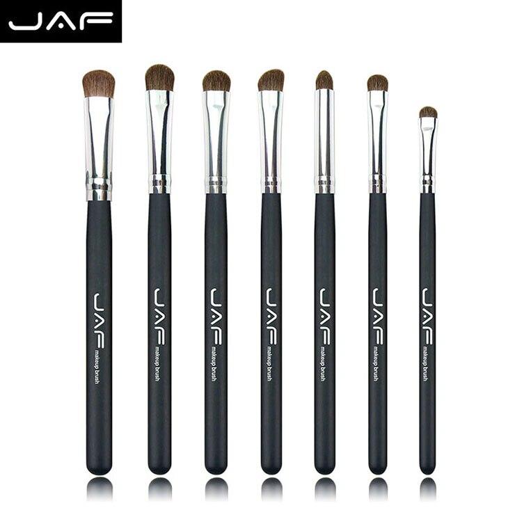 Tesoura de Maquiagem escovas de olho de mistura Quantidade : 7 Pcs/conjunto Eye Makeup Brushes