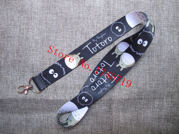 Retail 1 Pcs  My Neighbor Totoro Straps Lanyard  ID Badge Holders Mobile Neck Keychains For Party GIFT LM-24