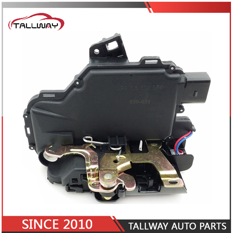 FREE SHIPPING FRONT RIGHT SIDE OE 3B1837016A FOR GOLF 4 IV MK4 SEAT SKODA PASSAT BORA LUPO NEW BEETLE CENTRAL DOOR LOCK ACTUATOR
