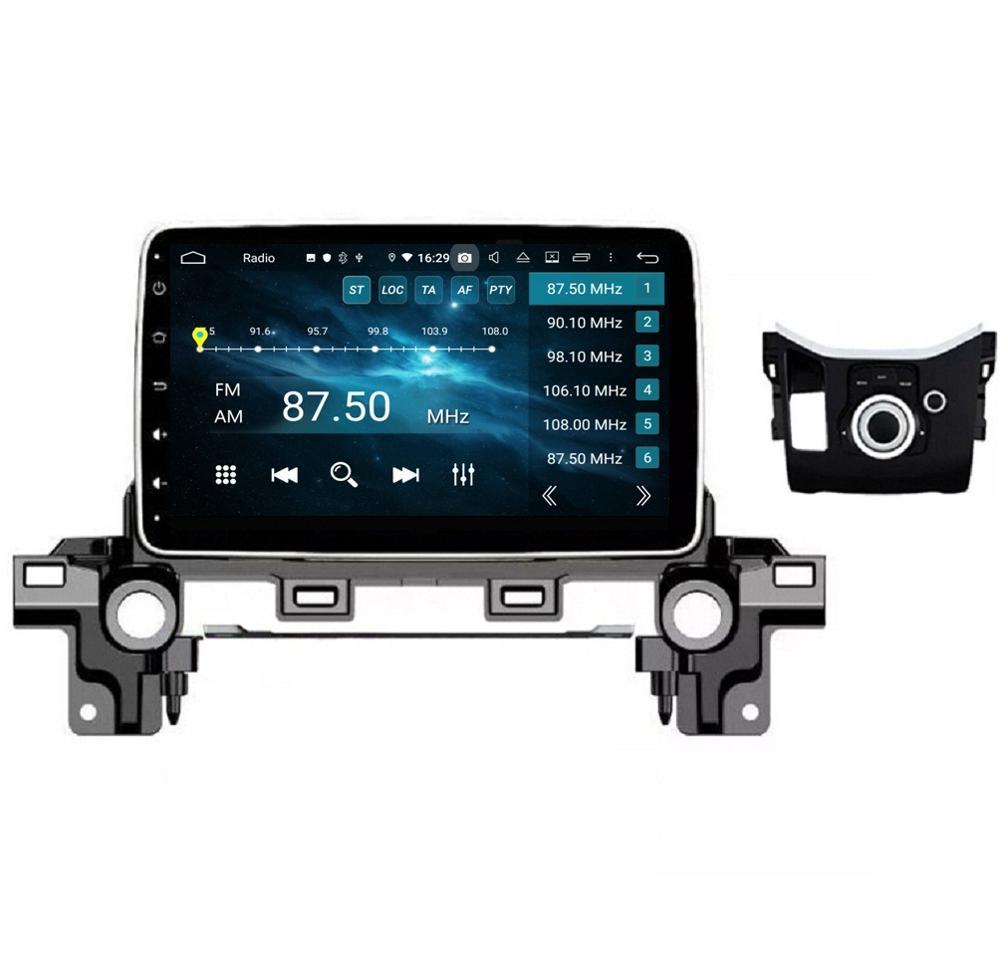 4GB RAM 9 Android 9.0 Car Radio DVD GPS Head Unit for Mazda CX 5 CX5 2017 2018 2019 Bluetooth WIFI USB Mirror link