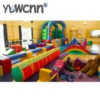 Мягкая игровая мебель для детей, Детский Крытый мягкий игровой центр весь парк INA171071