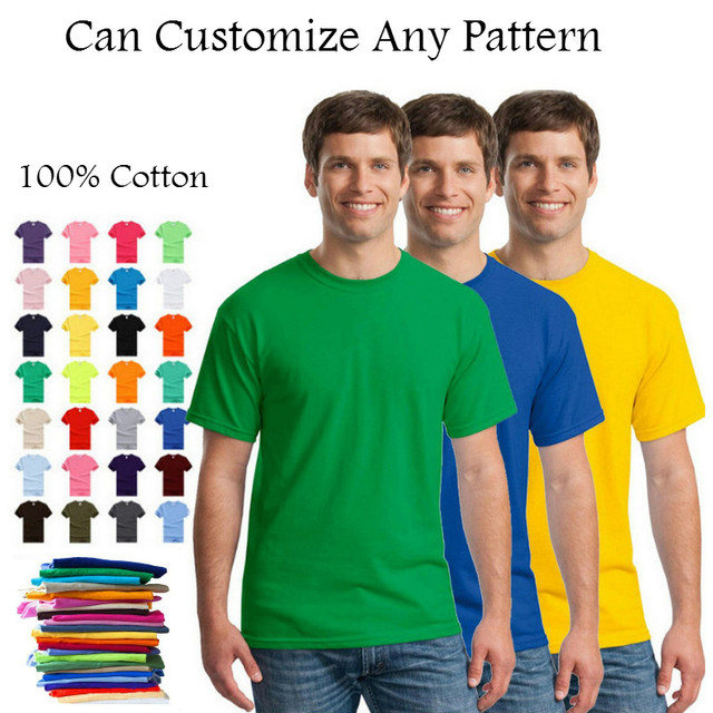 2fa8ec0a9e4 2018 New Solid Color T Shirt Mens Multiple Colors 100% cotton T shirts  Summer Skateboard Tee Tops Boy Skate Tshirt Free shipping-in T-Shirts from  Men s ...