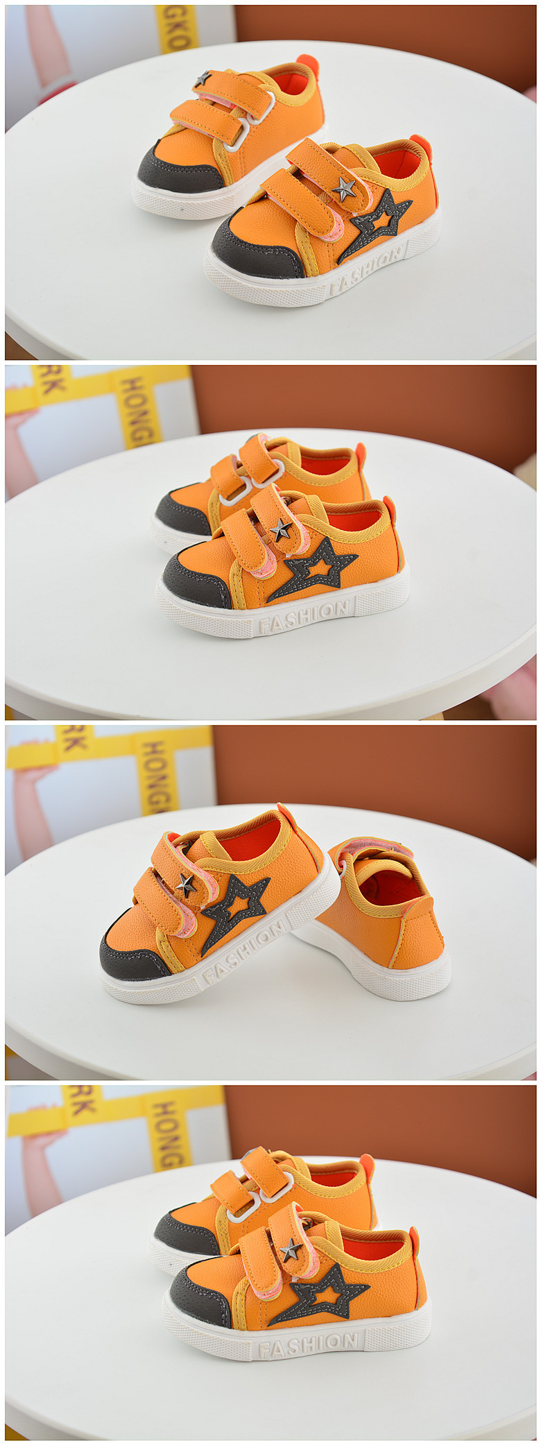 16 New Small Children Canvas Shoes For Kids Baby Boys Canvas Star Shoes Girls Flat Sneakers Low Casual School Students Shoes 5