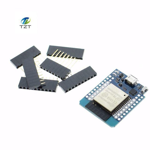 1 STÜCKE MH-ET LIVE D1 mini ESP32 ESP-32 WiFi + Bluetooth Internet der Dinge entwicklung basis ESP8266 Voll funktionsfähig