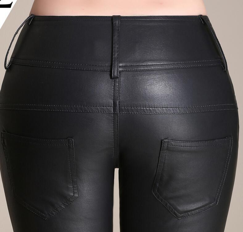 De Engrosamiento Más Xs Alta Pantalones Nueva Caliente Elástico 2019 Moda Grandes Negro 3xl Pequeña Tamaños Cuero Cintura Mujer Render fqxx0Yw1WP