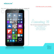 Lumia 640 XL Tempered Glass 0.3mm 9H Nillkin Amazing H Anti-Explosion Screen Protector For