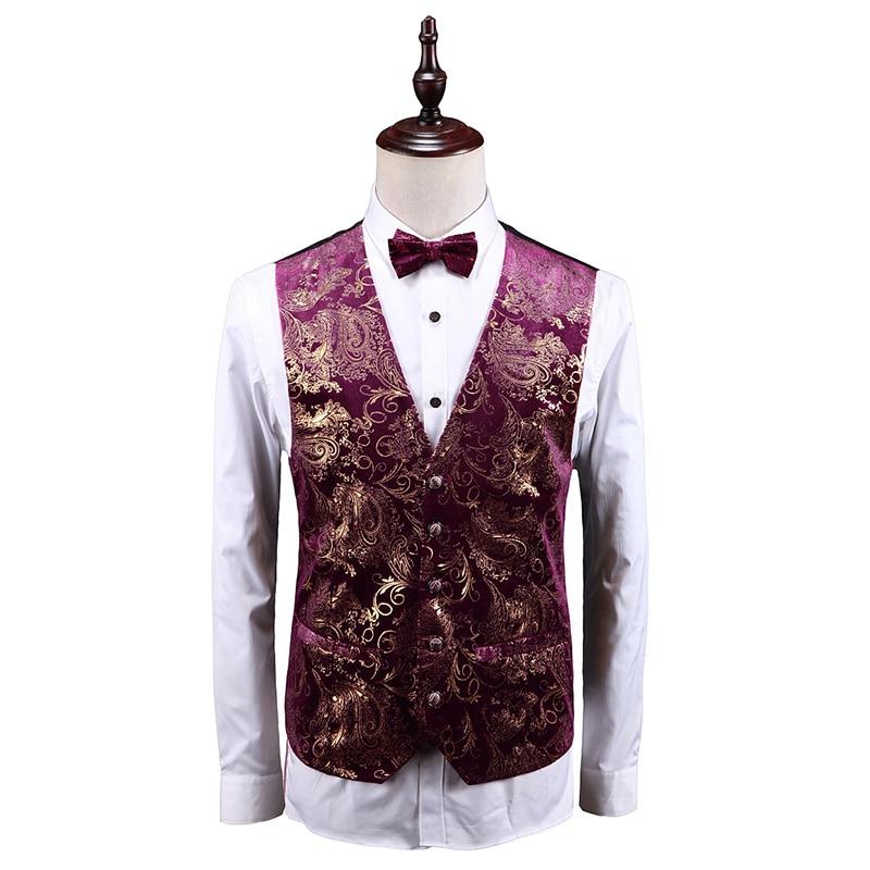 MOGU Для мужчин Классические Повседневное мода Slim Fit платье жилет костюм высокого