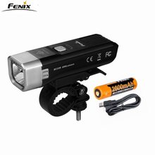 2018 New Fenix BC25R CREE XP-G3 neutral white LED 600 lumen Micro USB rechargeable Built-in 2600mAh Li-ion battery bicycle light(China)