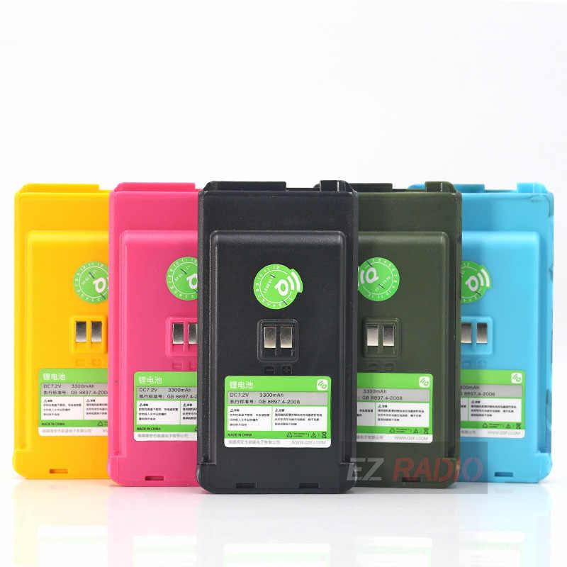 Originele 3300 Mah Batterij Voor Quansheng TG-R50/UV-R50/UV-R50(1)/TG-UVR50/UV-R50-2/UV-R50-1 Batterij Ham Radio SQ-UV25 Dc 3.7V