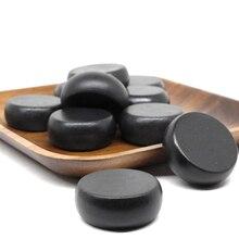 4x4cm Spa hot Stone Beauty Stones Massage Lava Natural Hot Relieve Stress RELAX jade massage set toe