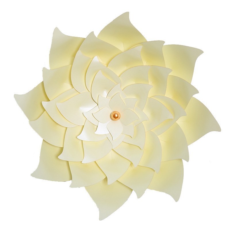 ZLJQ Creative 40CM 3D Simulation Windmill Paper Flowers Wedding ...