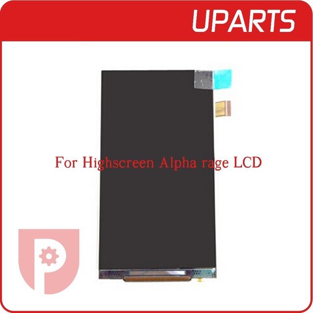 1 pçs/lote A + Display LCD de Alta qualidade Para Highscreen Alpha raiva LCD Screen Display + N ° de Rastreamento