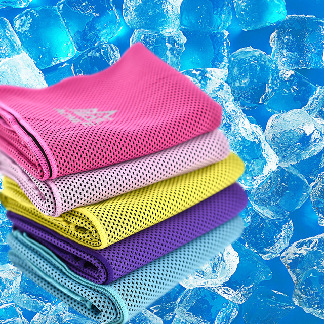 AONIJIE 4041 Instant Cooling Towel Quick Drying Mesh Running 5