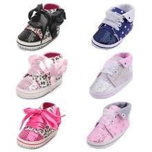 9166ffe633fd3 Marque Sneaker nouveau-né bébé berceau chaussures garçons filles infantile  enfant en bas âge semelle souple bébé mocassins premi.