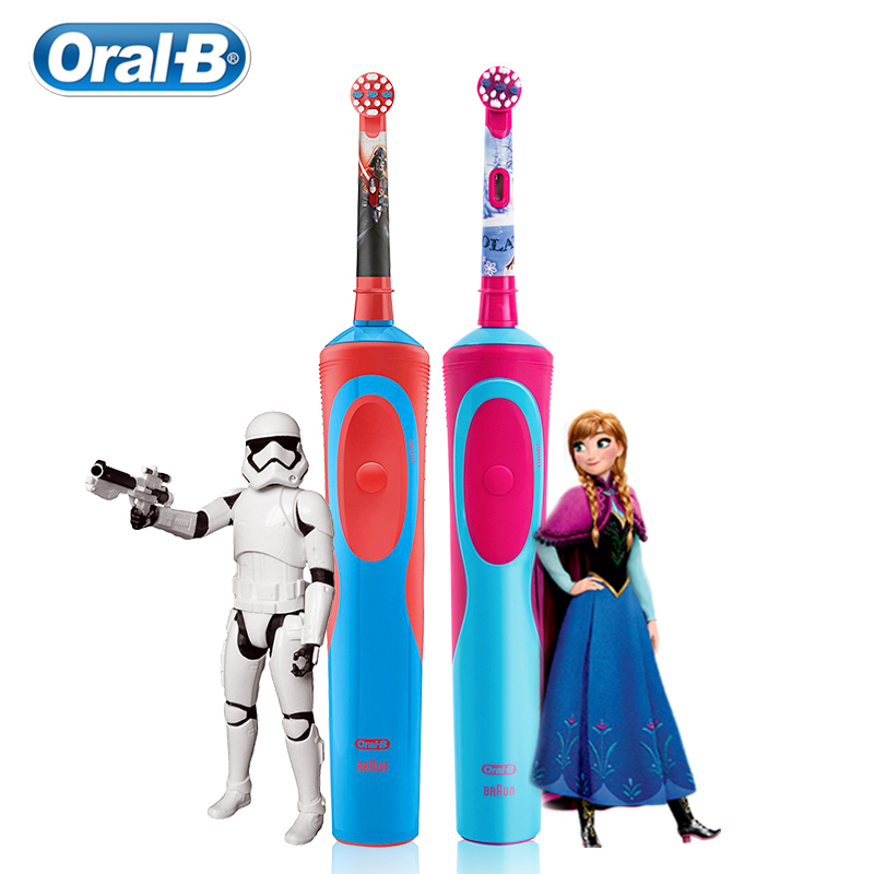 Oral B Children Electric Toothbrush For 3 Years Old Deep Clean Gum Care Rechargeable Replecement Toothbrush