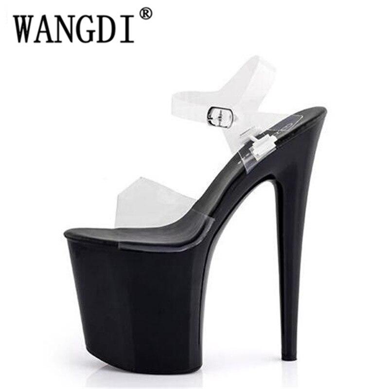 2 Europa Cm 3 Mujeres Alto Y Sexy Nightclub Catwalk Sandalias Modelo Zapatos 2018 20 1 Odio Los Días Tacón Impermeables 4 Estados Unidos ARqWgw
