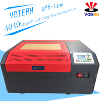VOIERN 50W WR4040 RUIDA co2 laser engraving machine,220v/100v laser cutter, CNC/DIYengraveing machine