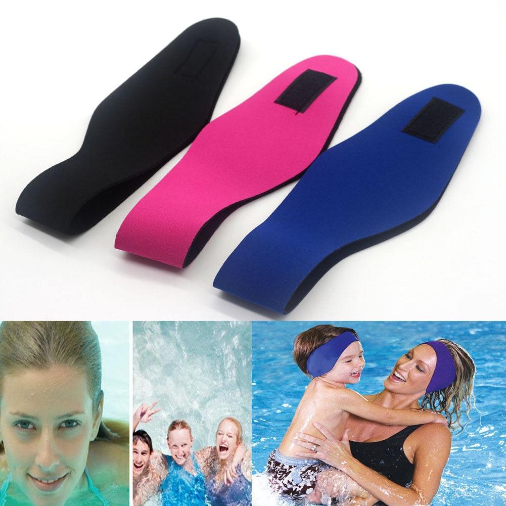 Protector Headband Watersport Swimming Adjustment Neoprene Bathing Adult Women Yoga Kids