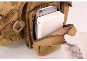 Image 3 - Saco de emergência Protetor Mais Magia Pacote de Cintura Tático Molle Acampamento Caminhadas Cintura Bolsa de Nylon Multi função Da Mão de Primeiros Socorros kits
