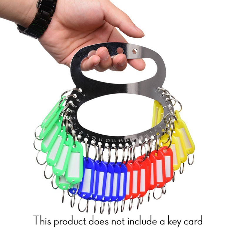 Outdoor Tools Key Manager Key Organizer Key Chains Holder Keychain With 18/28/38/48/58 Key Labels Keys Assortment 1