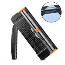 Buy Hot A4 Guillotine Ruler Paper Cutter Trimmer Scrapbooking Tool for Craft Paper Coupon Label Cardstock FQ-ing directly from merchant!
