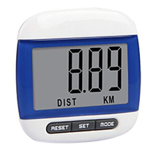 Easy carry Multifunction LCD Pedometer Calorie Calculation Counter -Blue